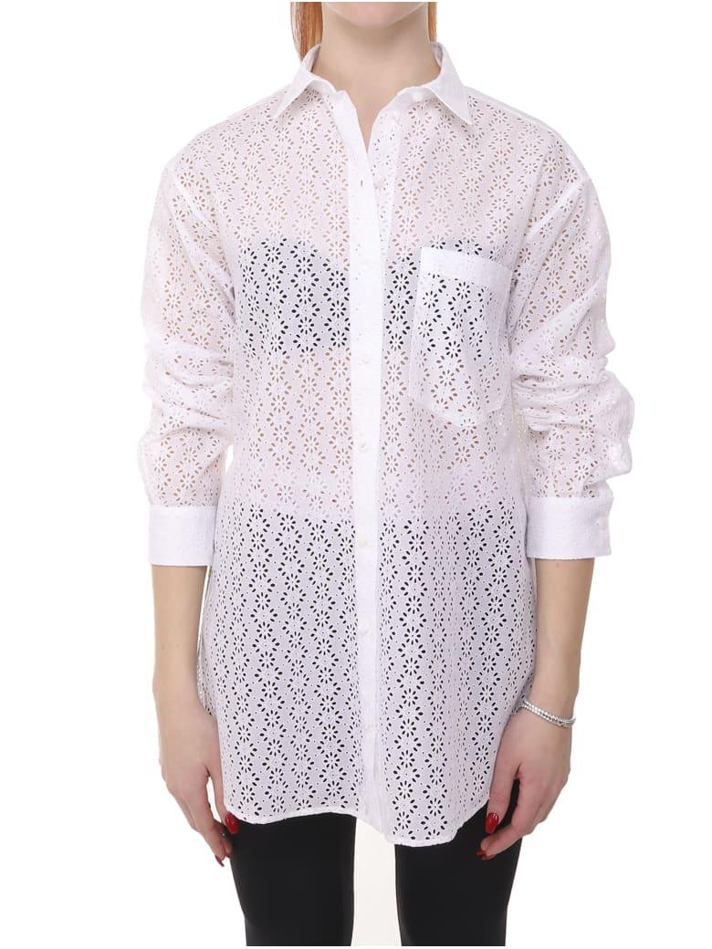 Alaia Azzedine Alaia White Shirt - White