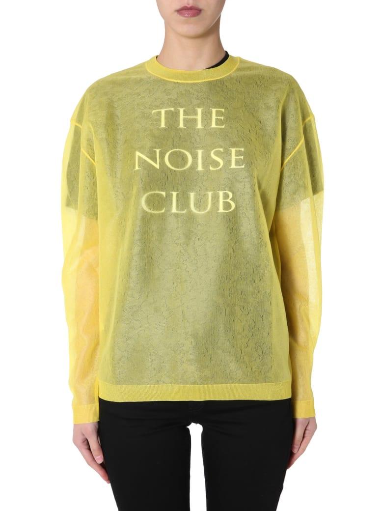 McQ Alexander McQueen Round Neck Sweatshirt - GIALLO