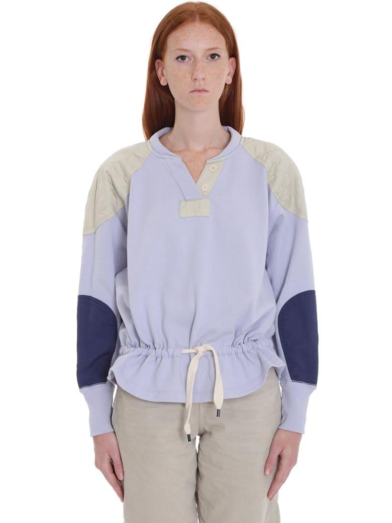 Isabel Marant Étoile Nifen Sweatshirt In Viola Cotton - Viola