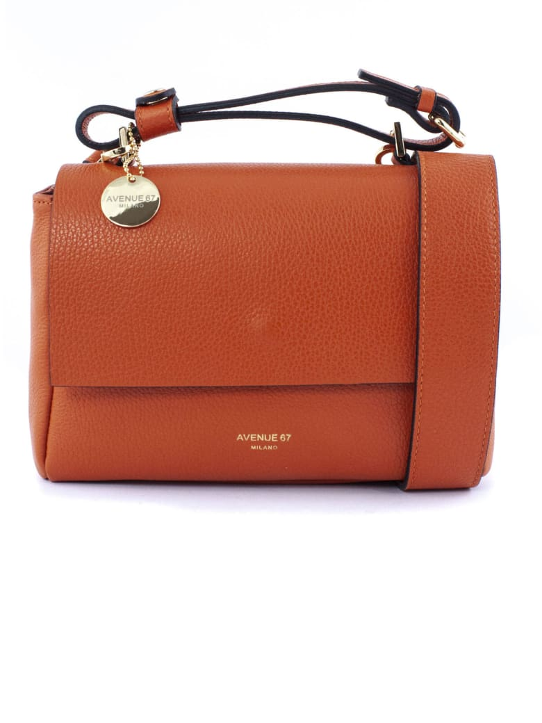 Avenue 67 Orange Elettra Xs Shoulder Bag - Arancio