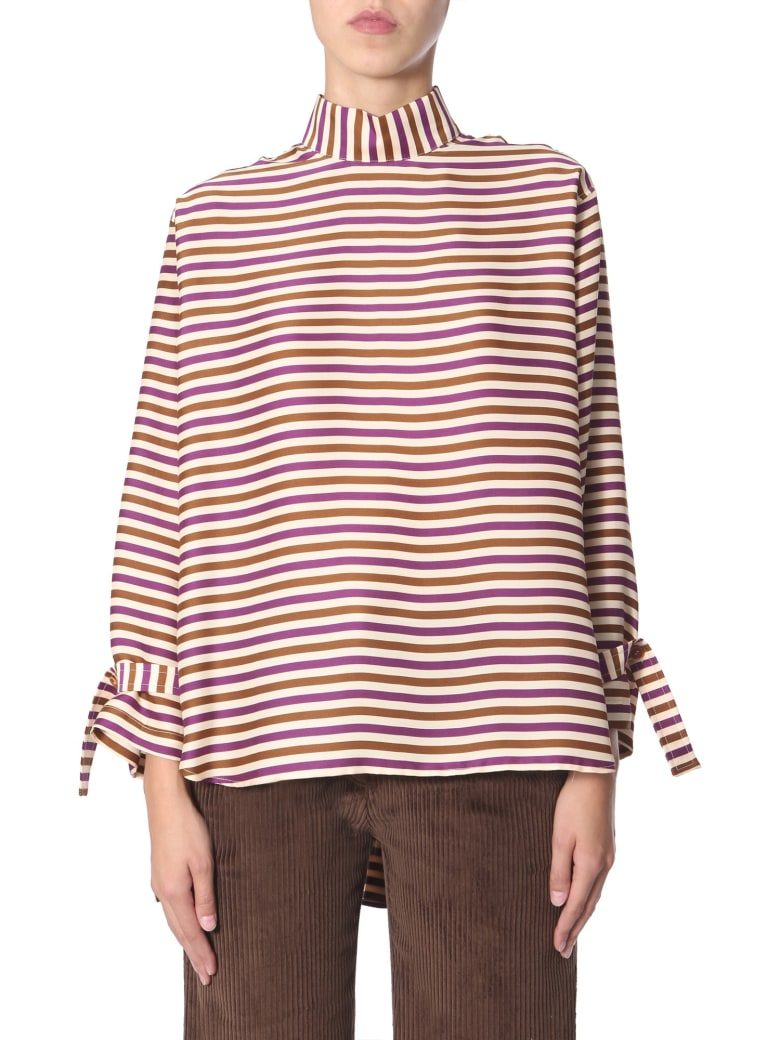 Jejia High Neck Shirt - MULTICOLOR