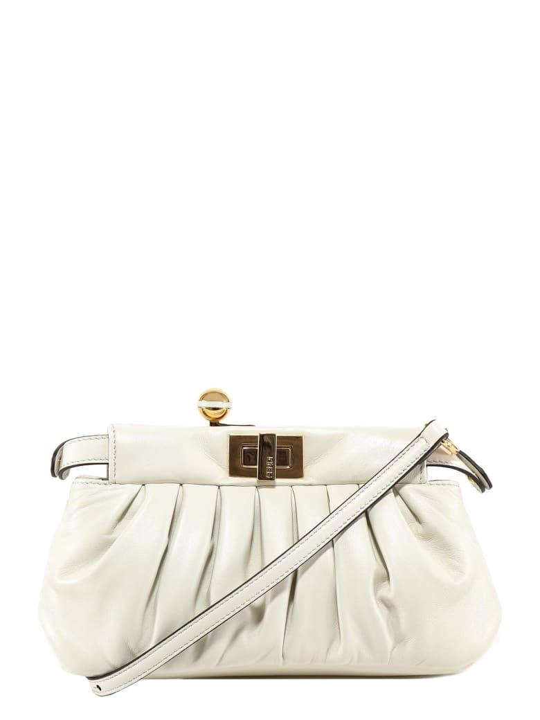 Fendi Peekaboo Shoulder Bag - White