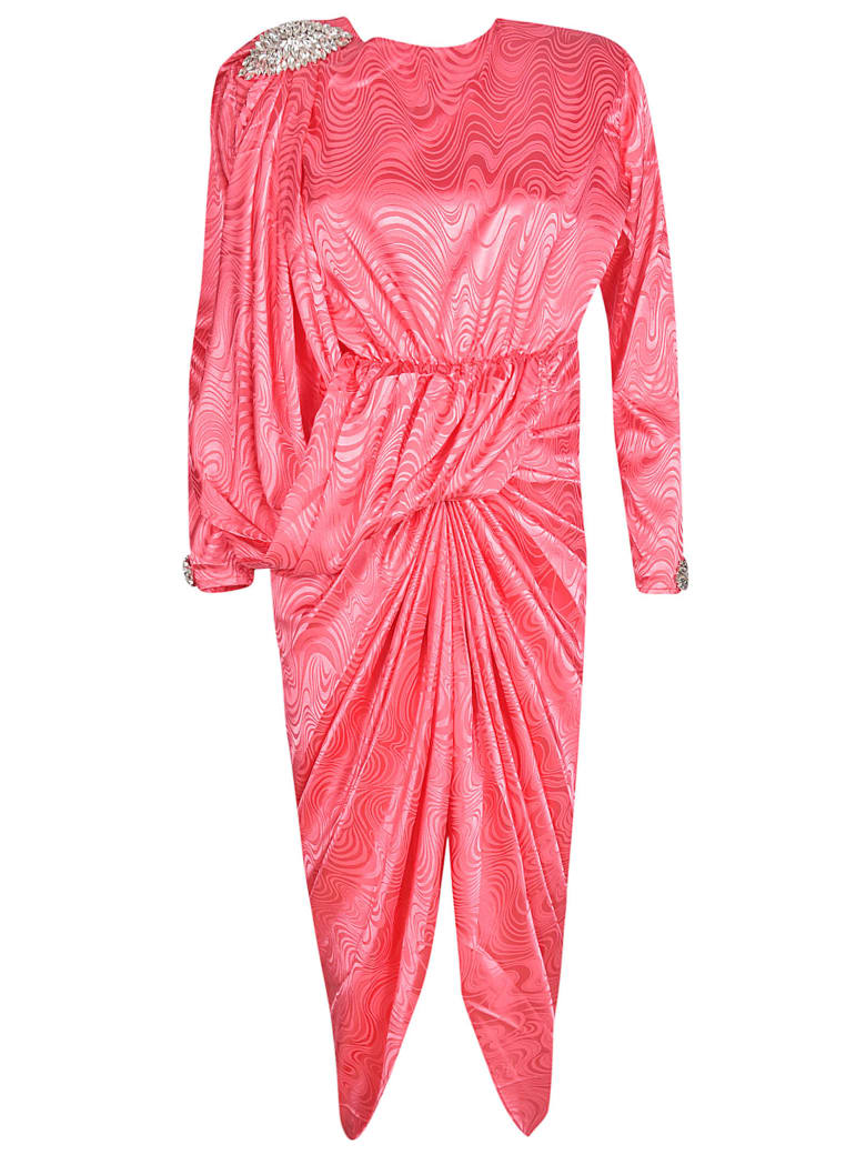 Dodo Bar Or Pink Dress.Best Price On The Market At Italist Dodo Bar Or Dodo Bar Or Grace Long Dress
