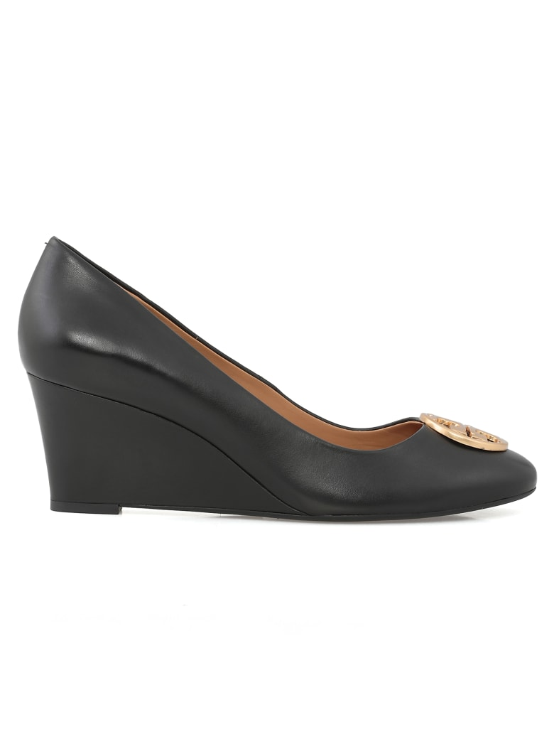 Tory Burch Chelsea Wedge - PERFECT BLACK