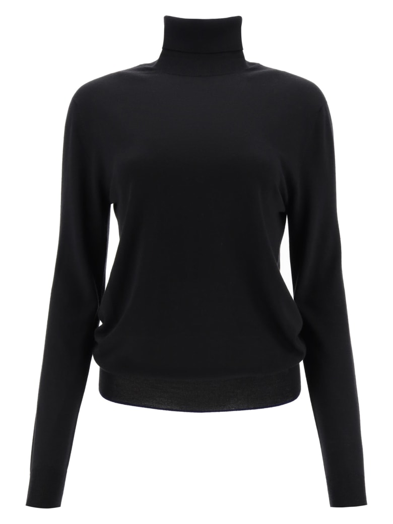 Marni Turtleneck Wool Sweater - BLACK (Black)