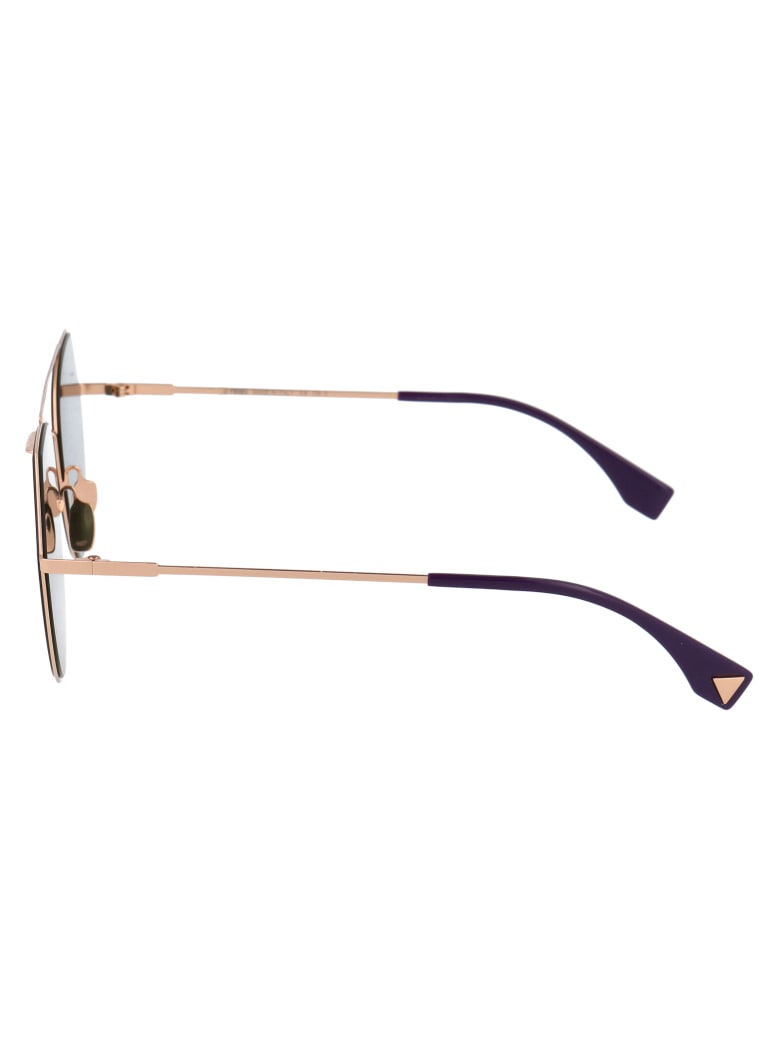 Fendi Ff 0194/s Sunglasses - DDBAP GOLD COPPER