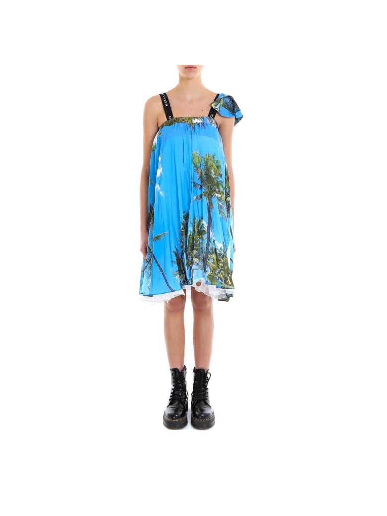 Natasha Zinko Mini Bell Dress - Blue