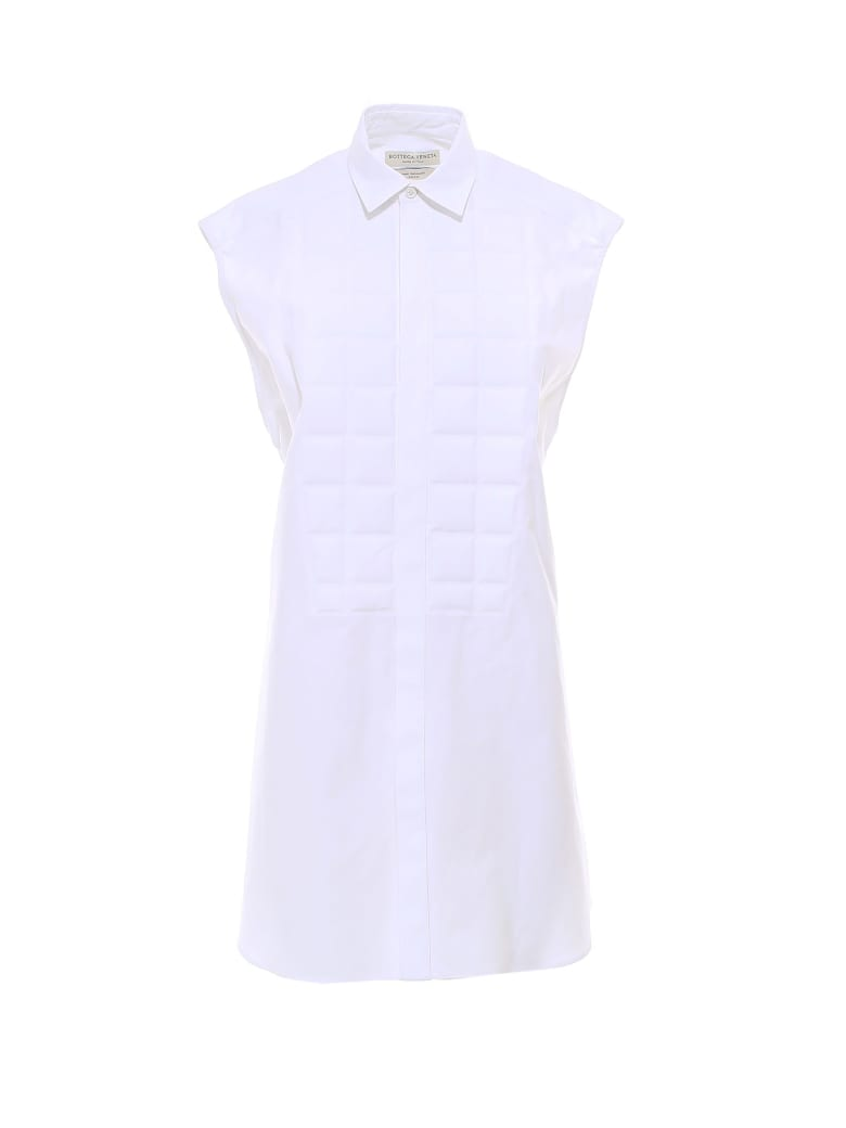 Bottega Veneta Shirt Organic Luxury Popeline - White