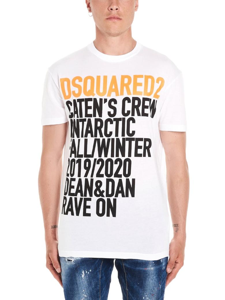 Dsquared2 'caten's Crew' T-shirt - White