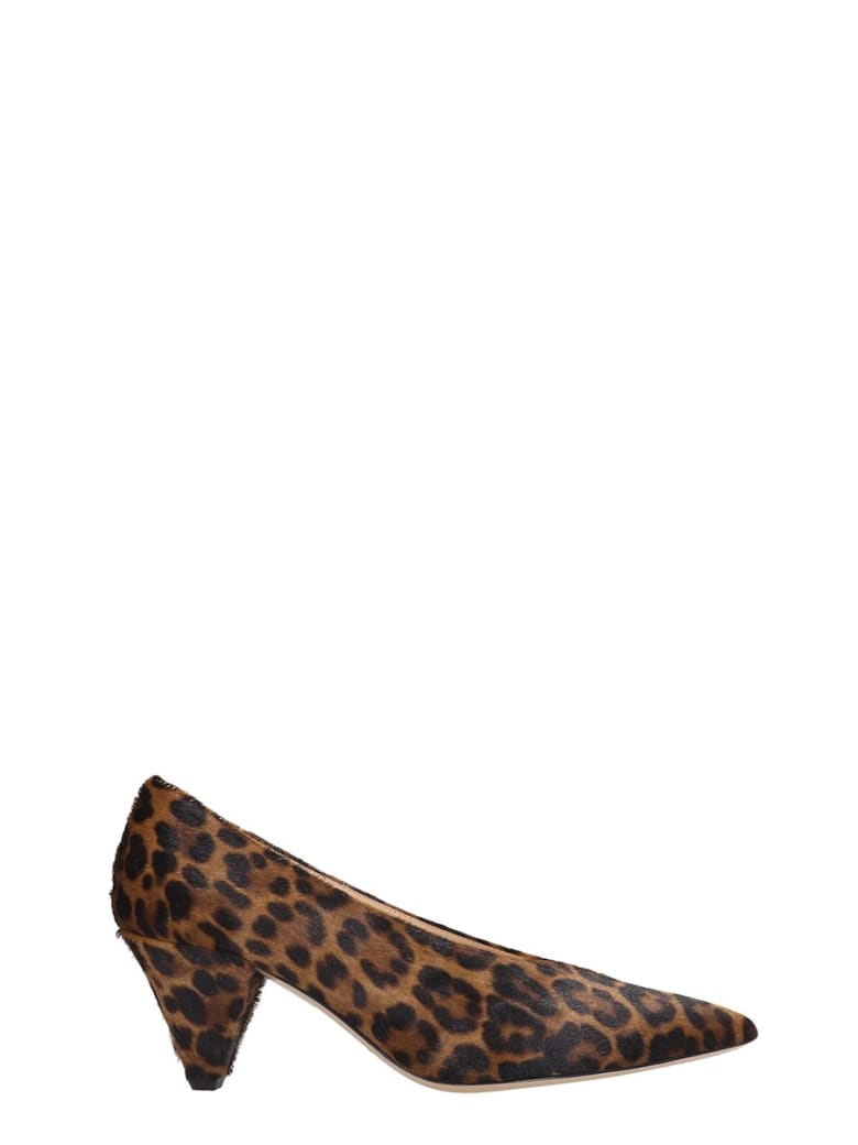 Fabio Rusconi Pumps In Animalier Pony Skin - Animalier