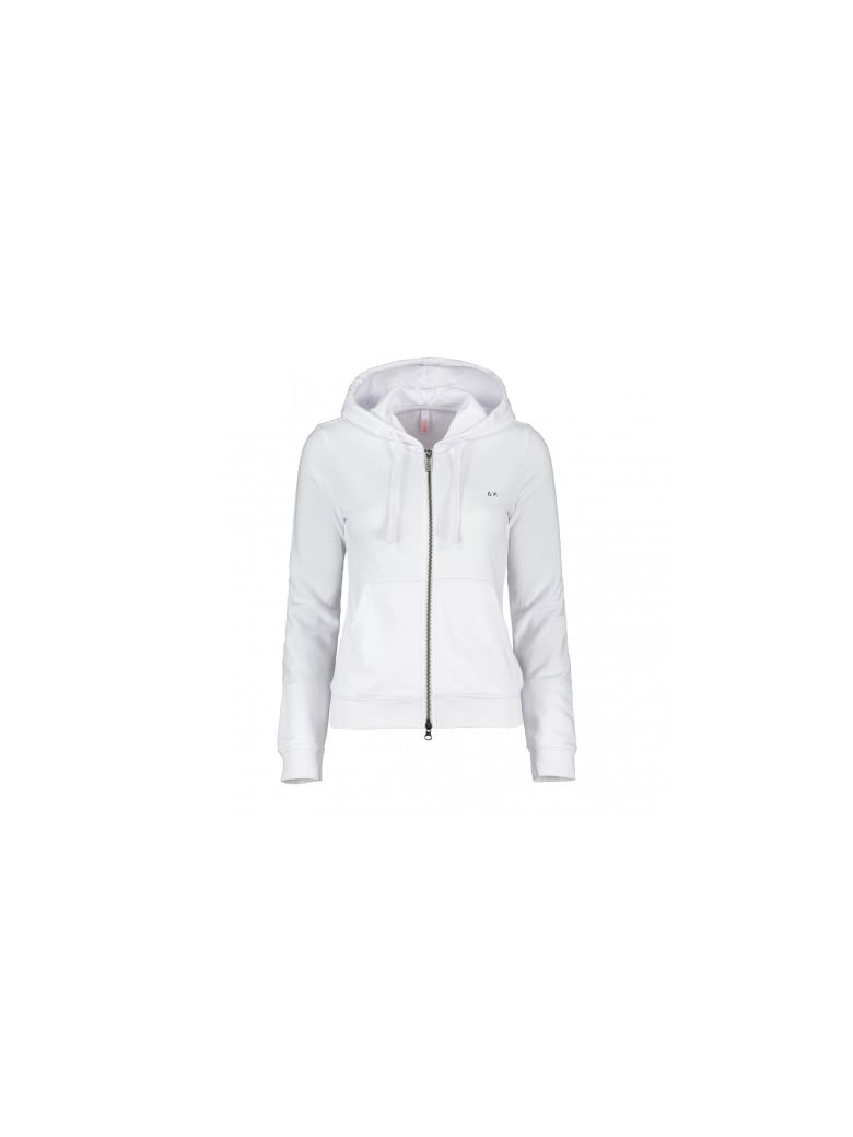 Sun 68 Sun68 Cotton Blend Sweatshirt - WHITE