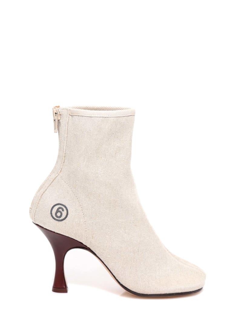 MM6 Maison Margiela Ankle Boots - Grey