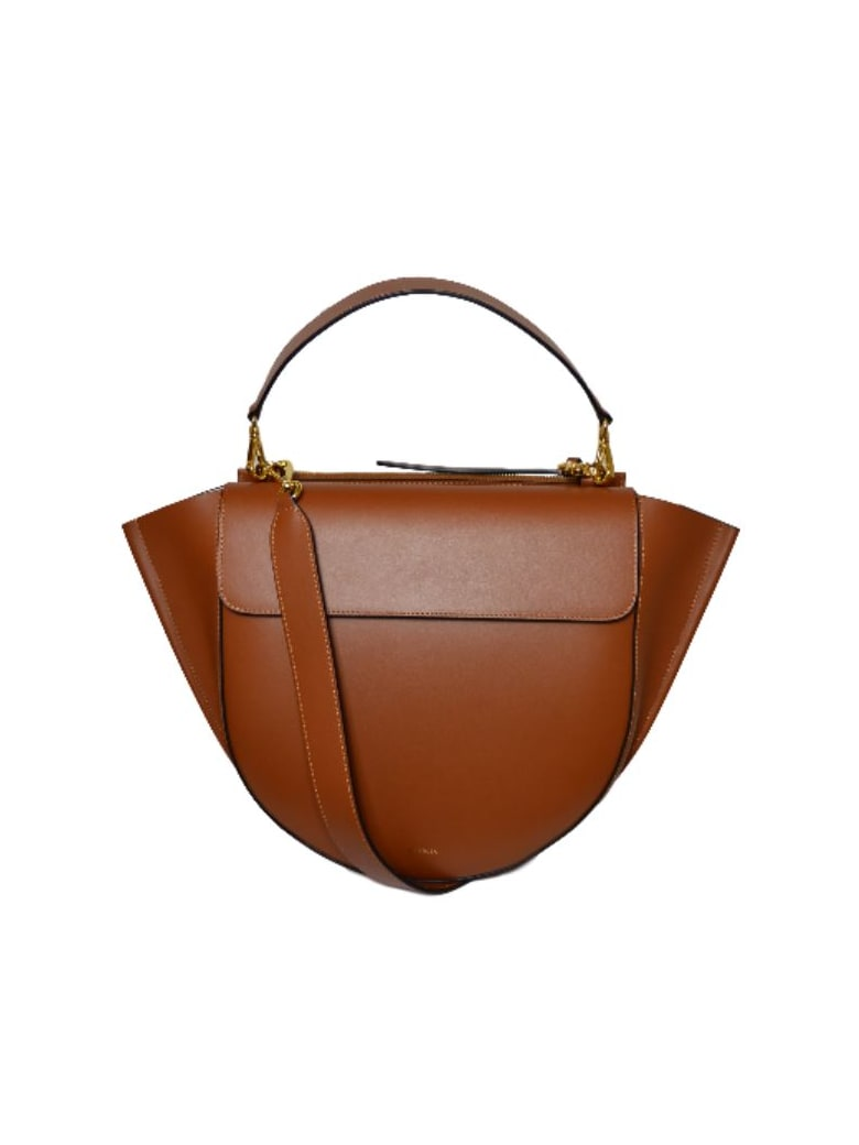 Wandler Hortensia Big Shoulder Bag - Tan Tan