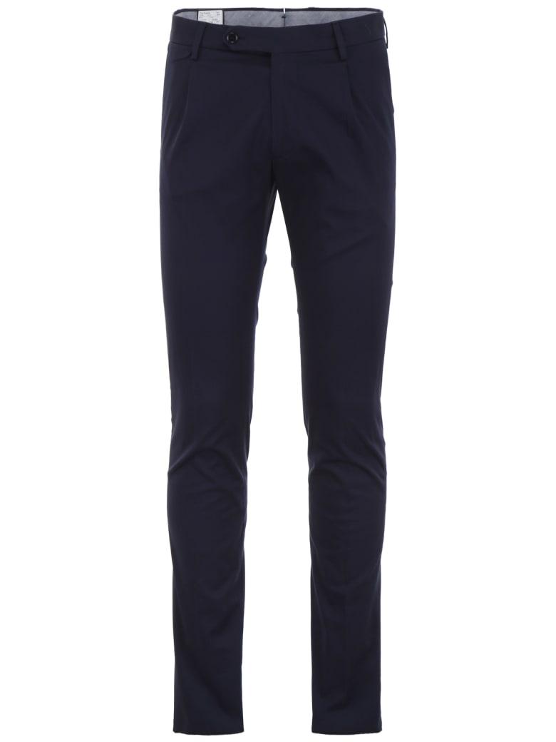Tagliatore Classic Trousers - BLUE (Blue)