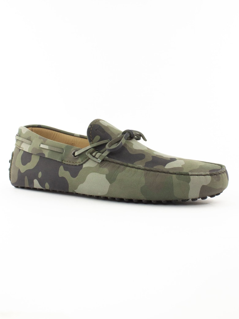 Tod's Camouflage Gommino Driving Shoes - Mimetico