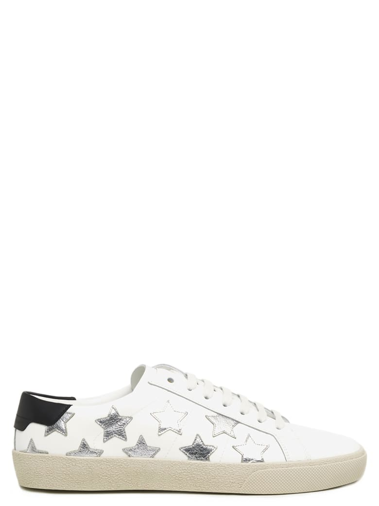 Saint Laurent 'court Classic' Shoes - White