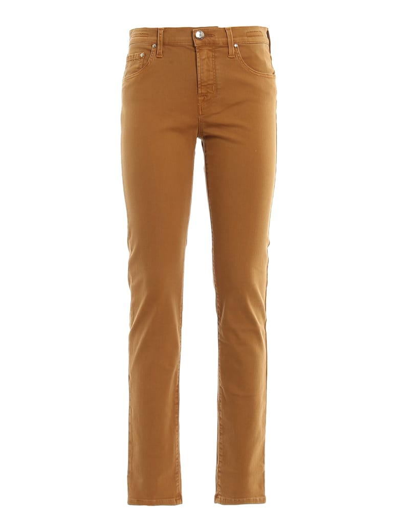 Jacob Cohen Trousers - Curry
