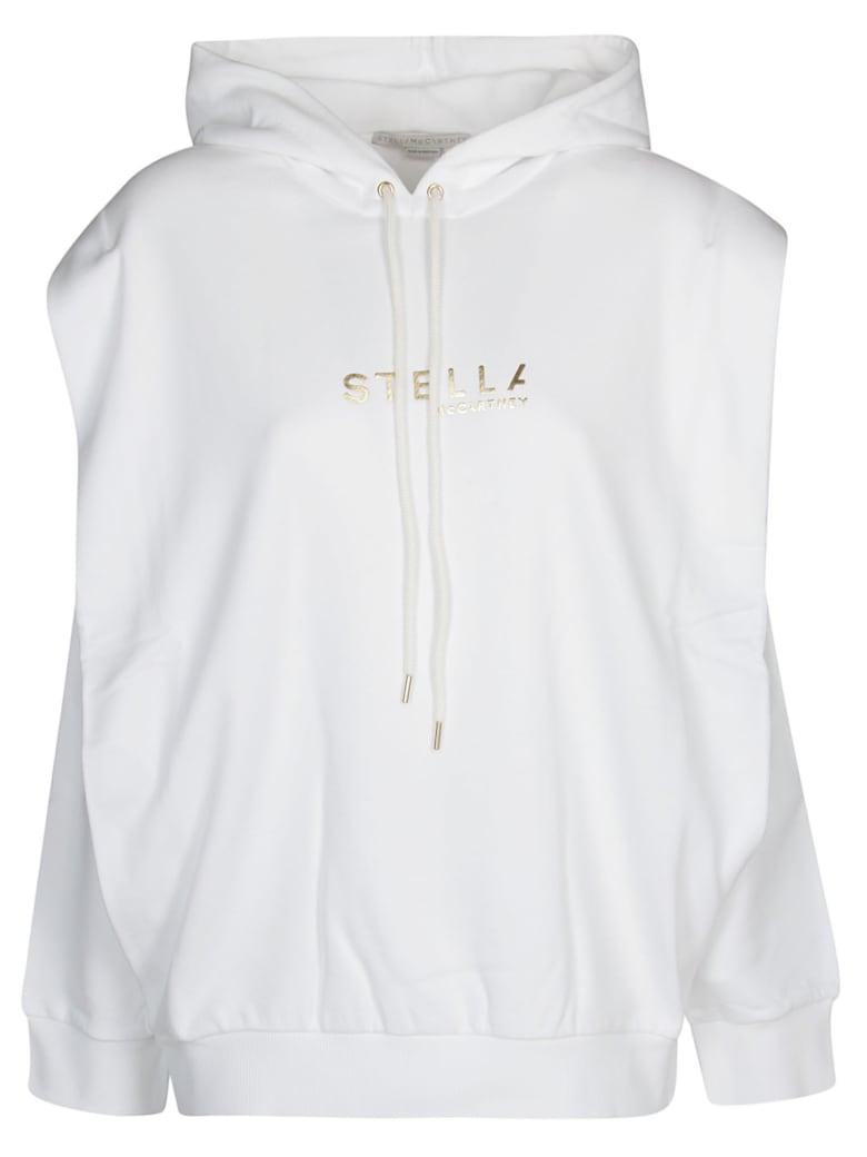 Stella McCartney White Cotton Sweatshirt - White