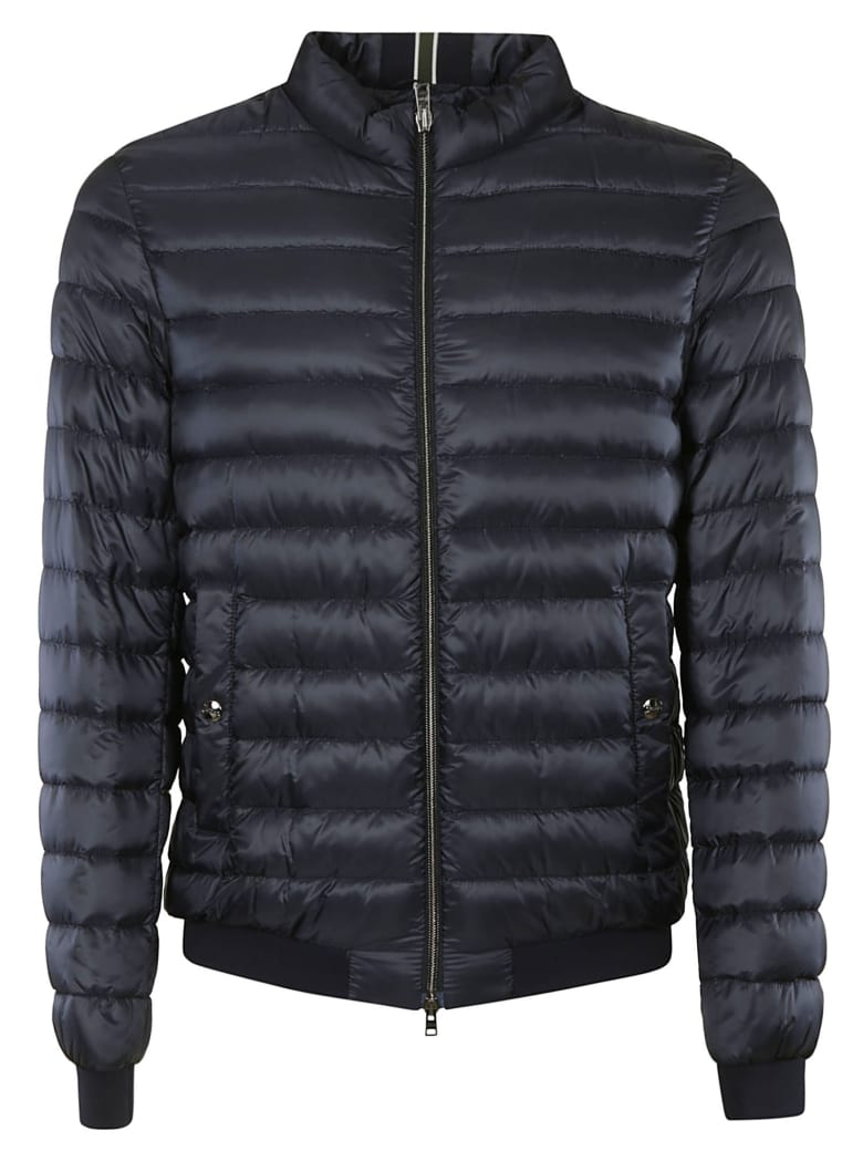 Herno Zip Padded Jacket - Navy