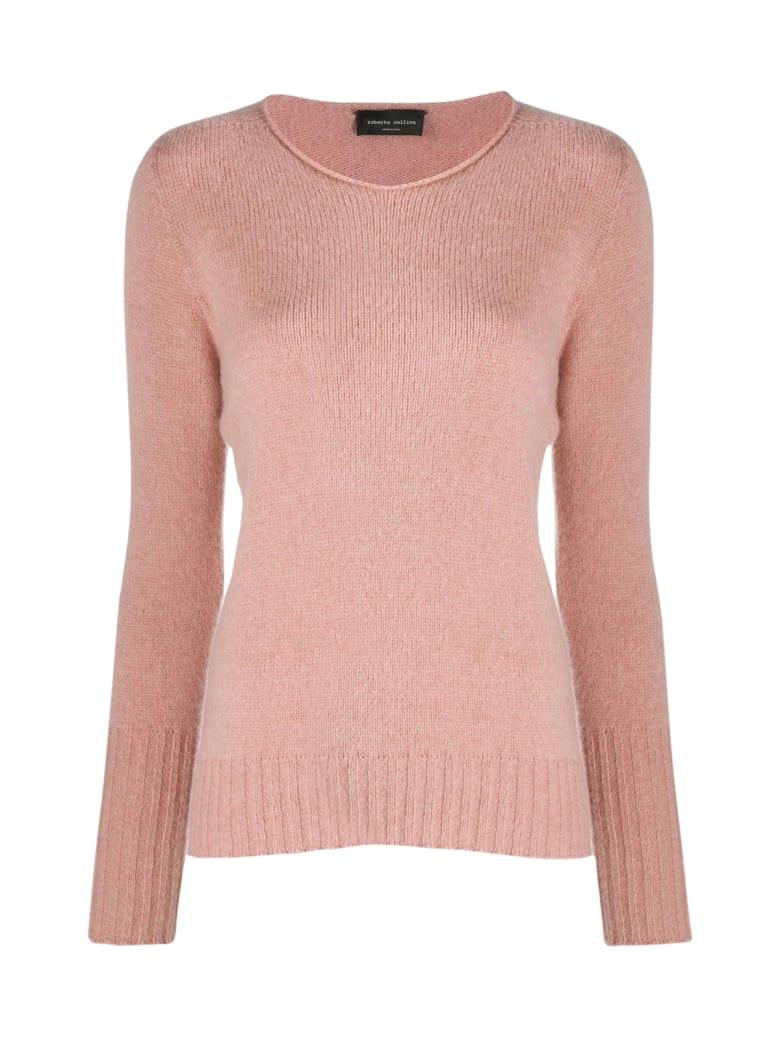 Roberto Collina Boat Neck Sweater - Rose
