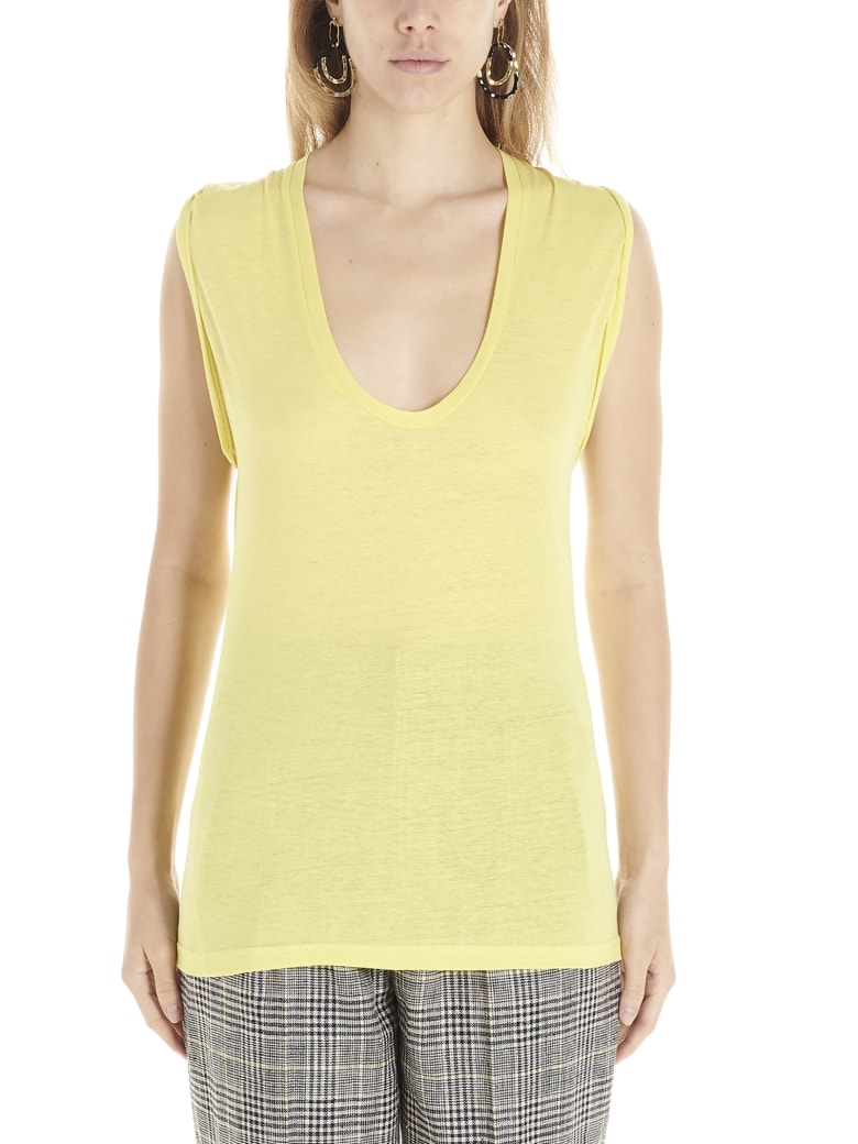 Isabel Marant 'maik' Top - Giallo