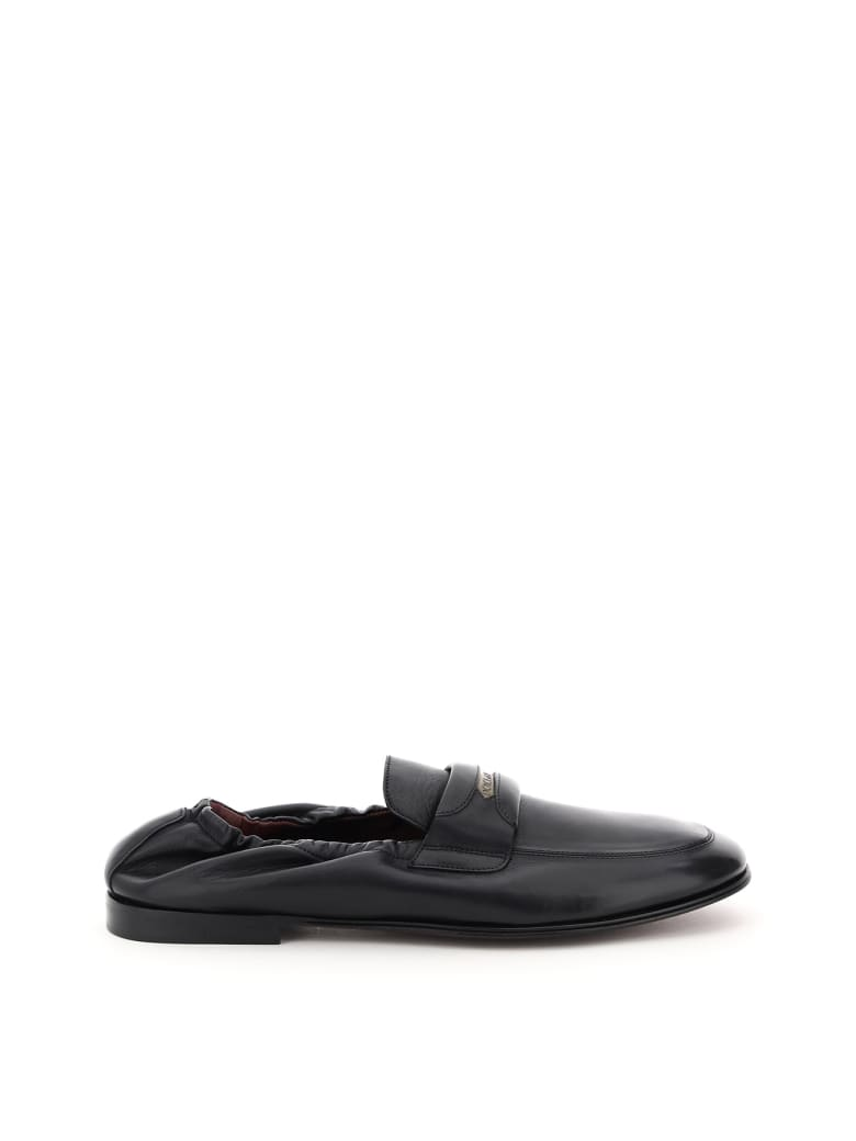 Dolce & Gabbana Ariosto Nappa Loafers - Nero