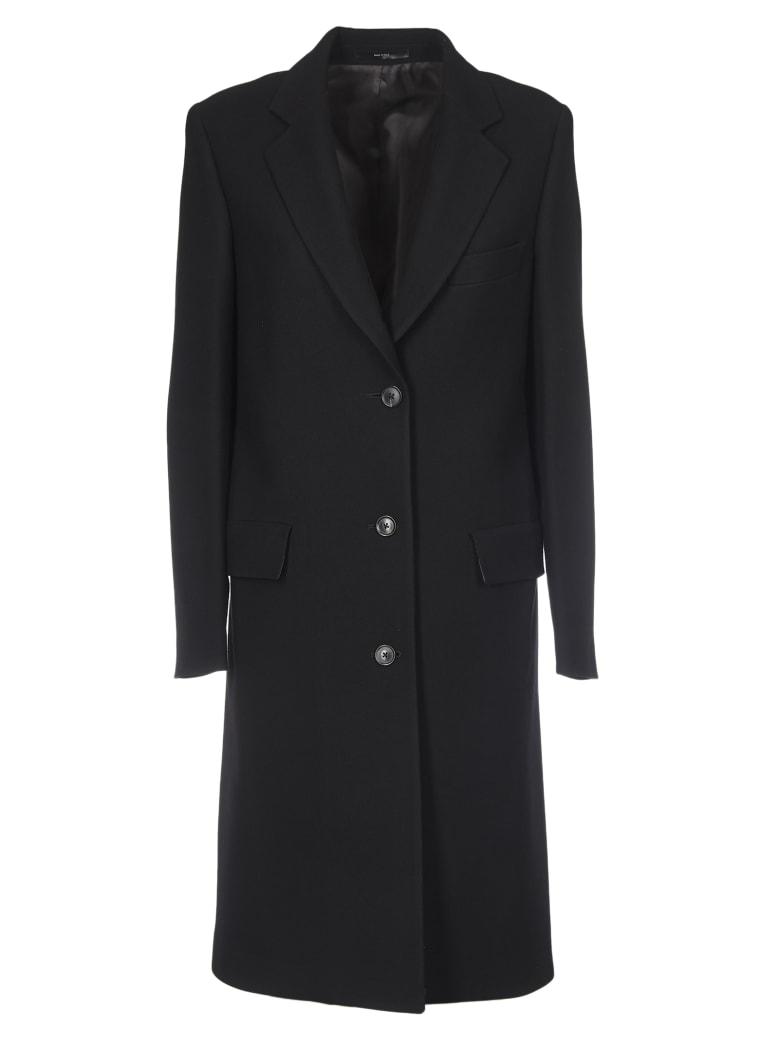 Paul Smith Black Wool Coat - Black