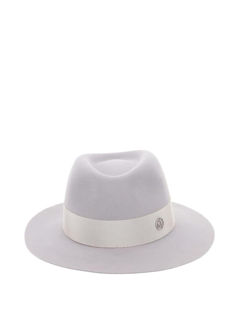 Maison Michel Andre Felt Trilby Hat - PEARL GREY (Grey)