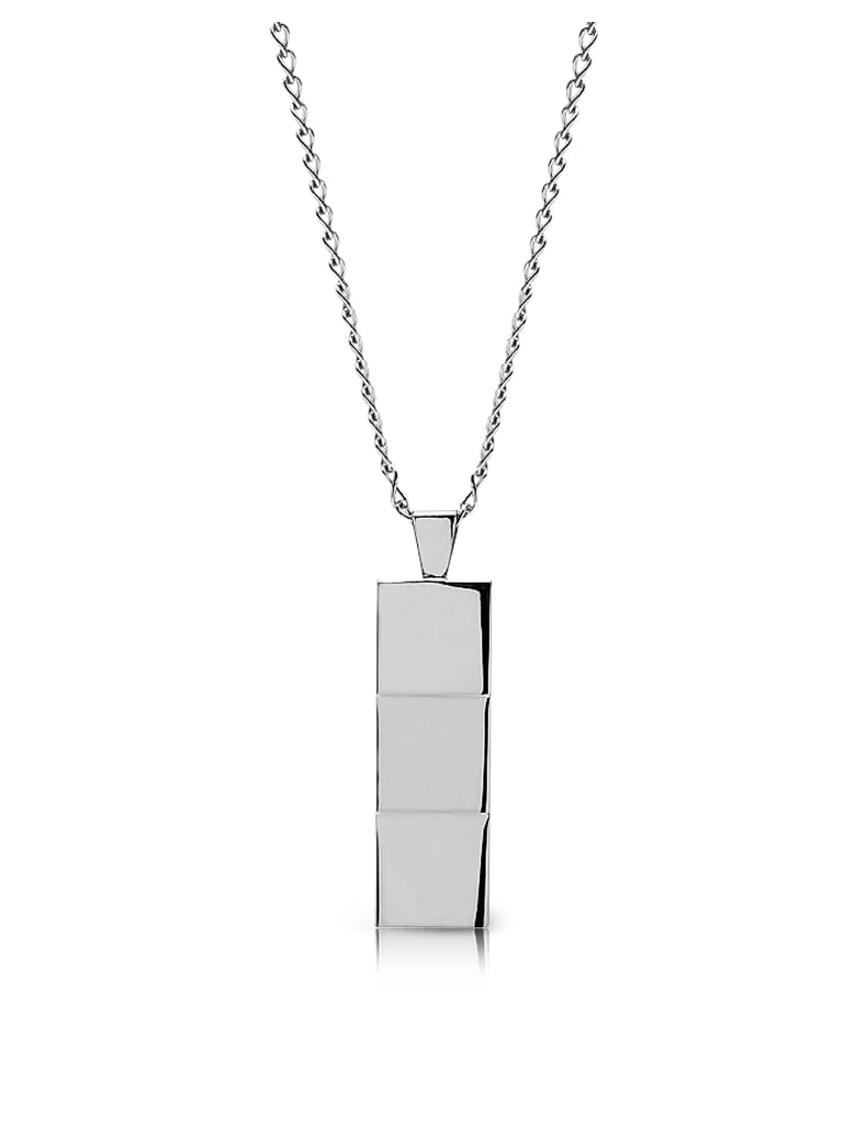 Northskull Layers Necklace Silver - Silver