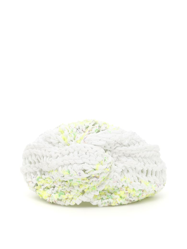 Flapper Vega Turban - WHITE YELLOW (White)
