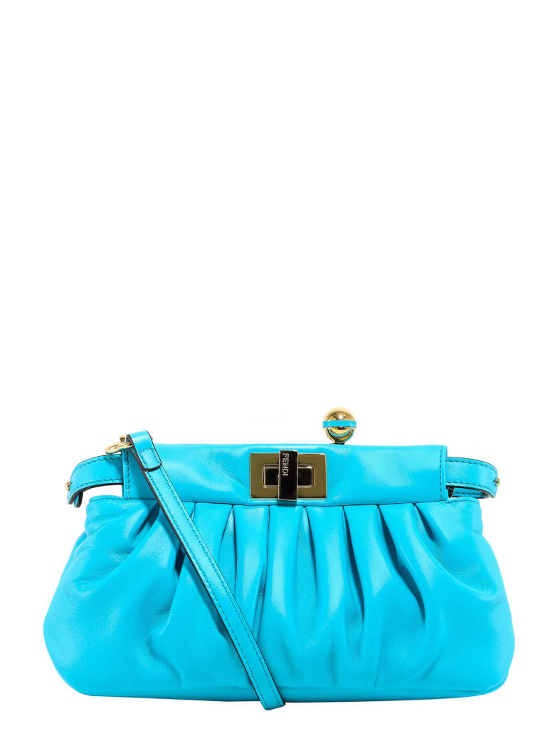 Fendi Peekaboo Shoulder Bag - Blue