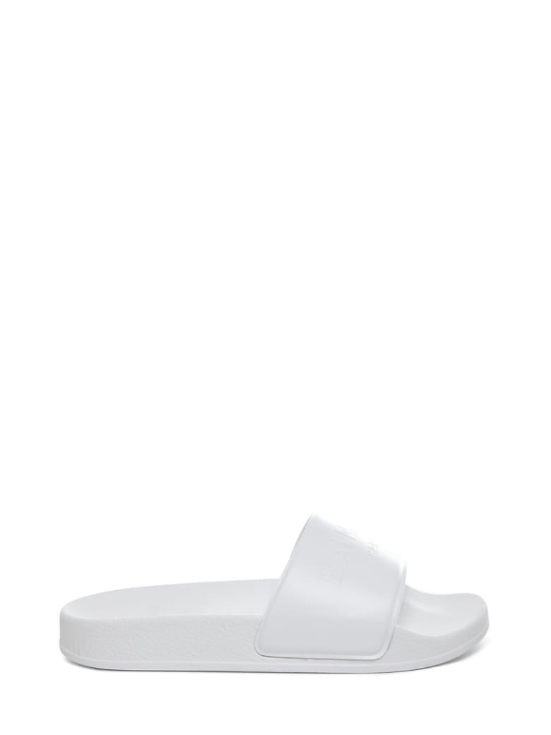 Balmain Paris Kids Sandals - White