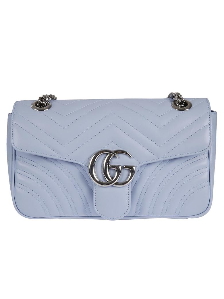 Gucci Gg Marmont 2 Shoulder Bag - Porcelain Blue
