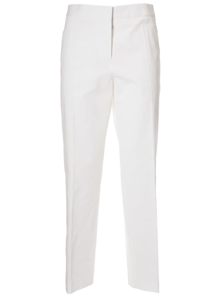 Jil Sander Classic Straight Trousers - Natural