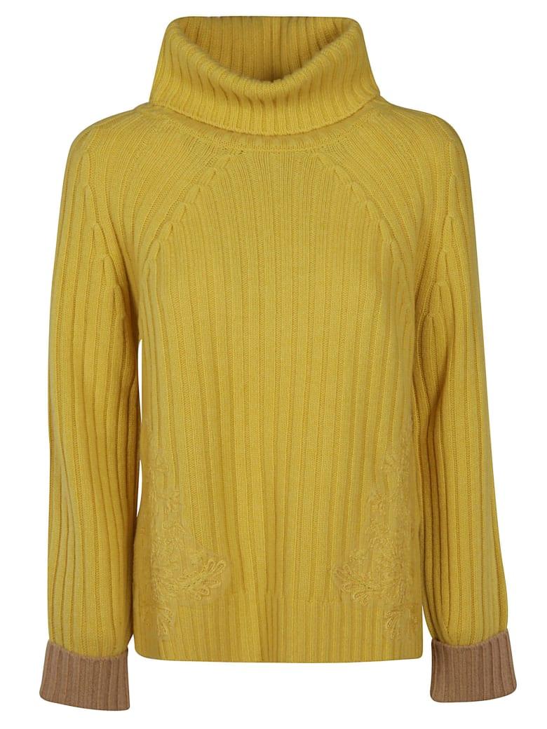 Ermanno Scervino Turtleneck Sweater - yellow