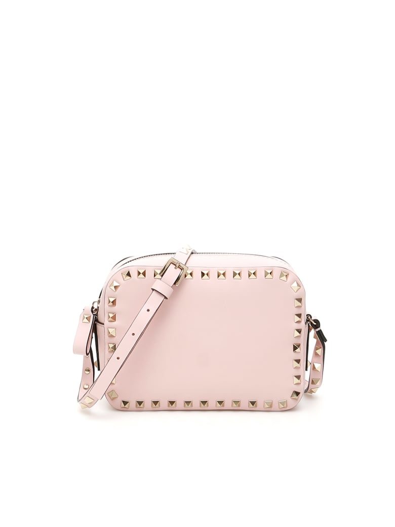 Valentino Garavani Rockstud Crossbody Bag - ROSE QUARTZ (Pink)