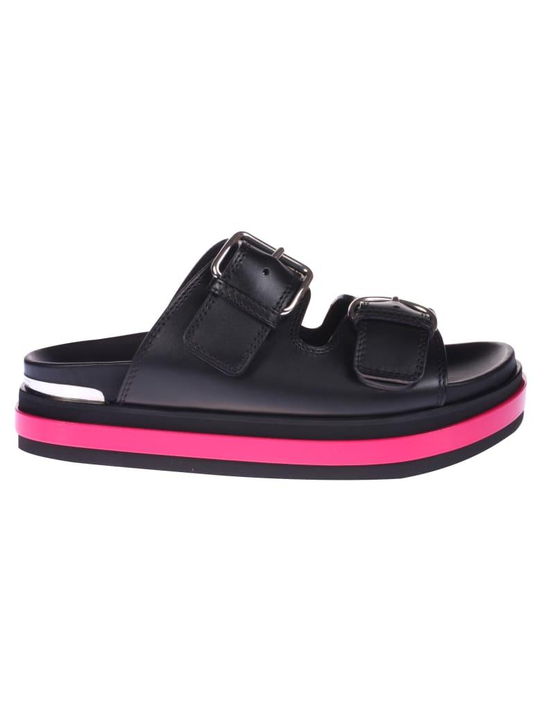 Alexander McQueen Buckled Strap Sandals