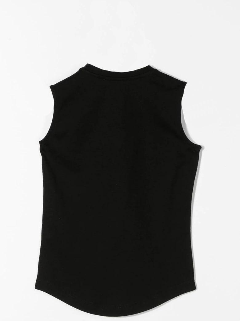 Balmain Tank Top With Buttons - Black