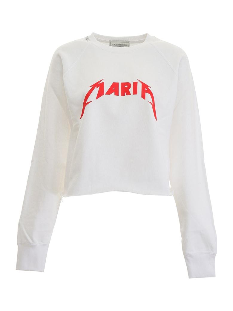 Forte Couture Mary Sweatshirt - WHITE (White)
