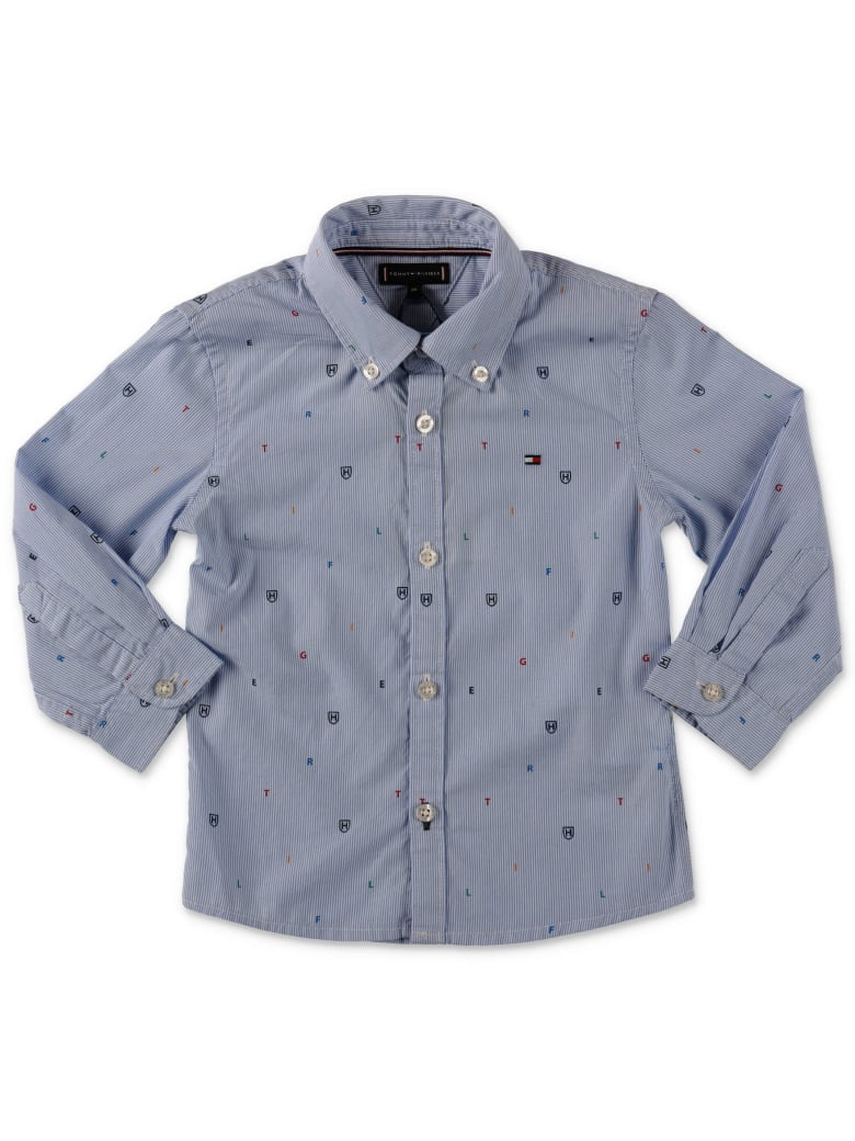Tommy Hilfiger Shirt - Azzurro