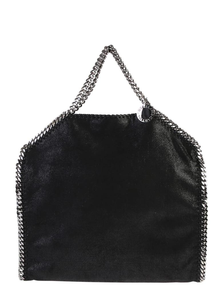 Stella McCartney Black Falabella Trile Chain Bag - Nero