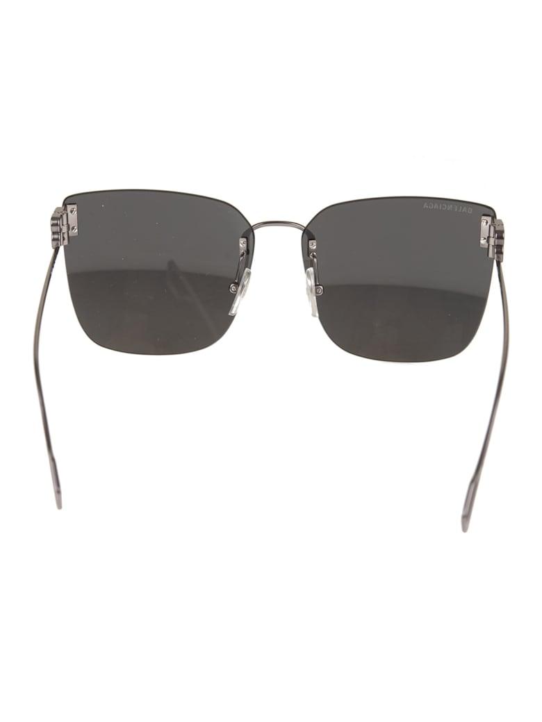 Balenciaga Grey Woman Square Sunglasses - Stain