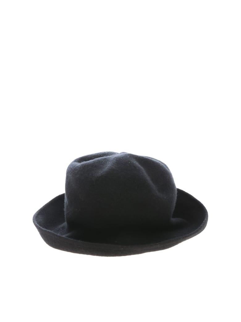 Kangra Wool And Silk Hat - Nero