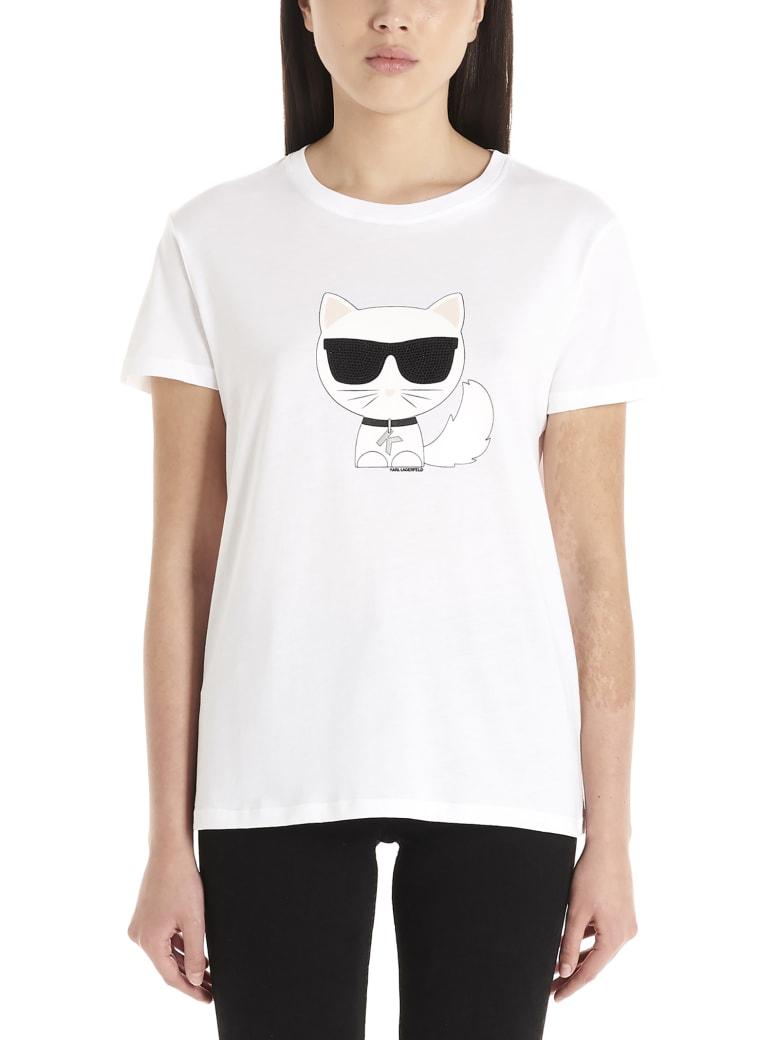 Karl Lagerfeld 'k/ikonik' T-shirt - White