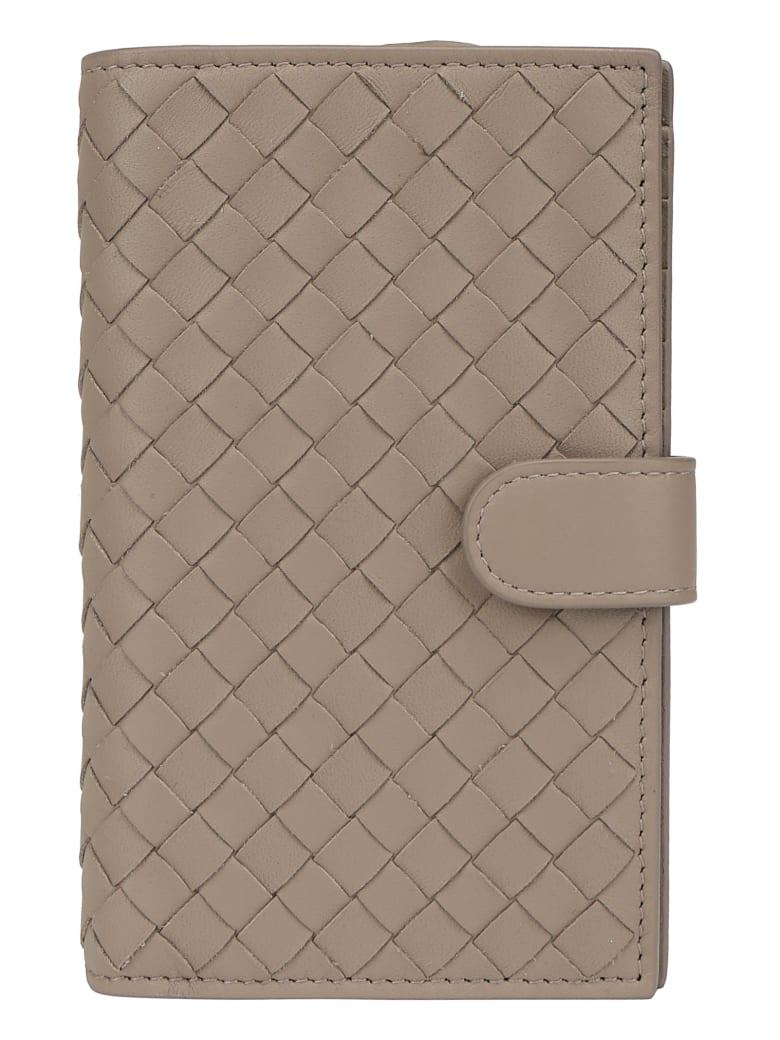 Bottega Veneta Crossbody Wallet - Morter