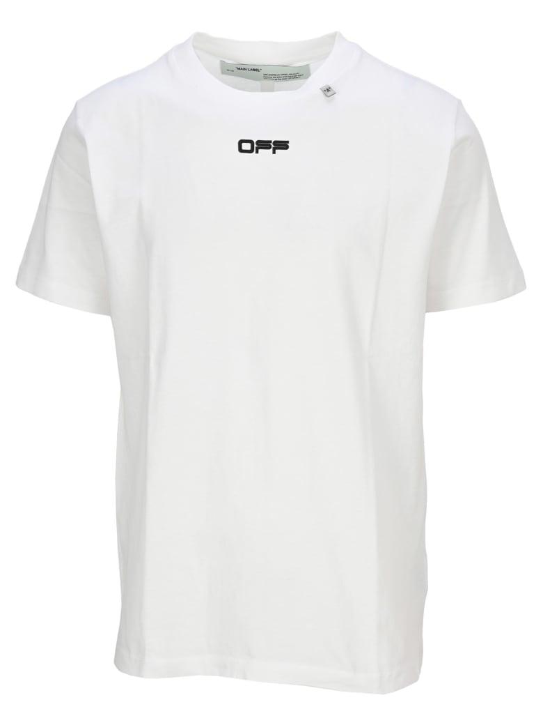 Off-White Off White Caravaggio Square T-shirt - WHITE