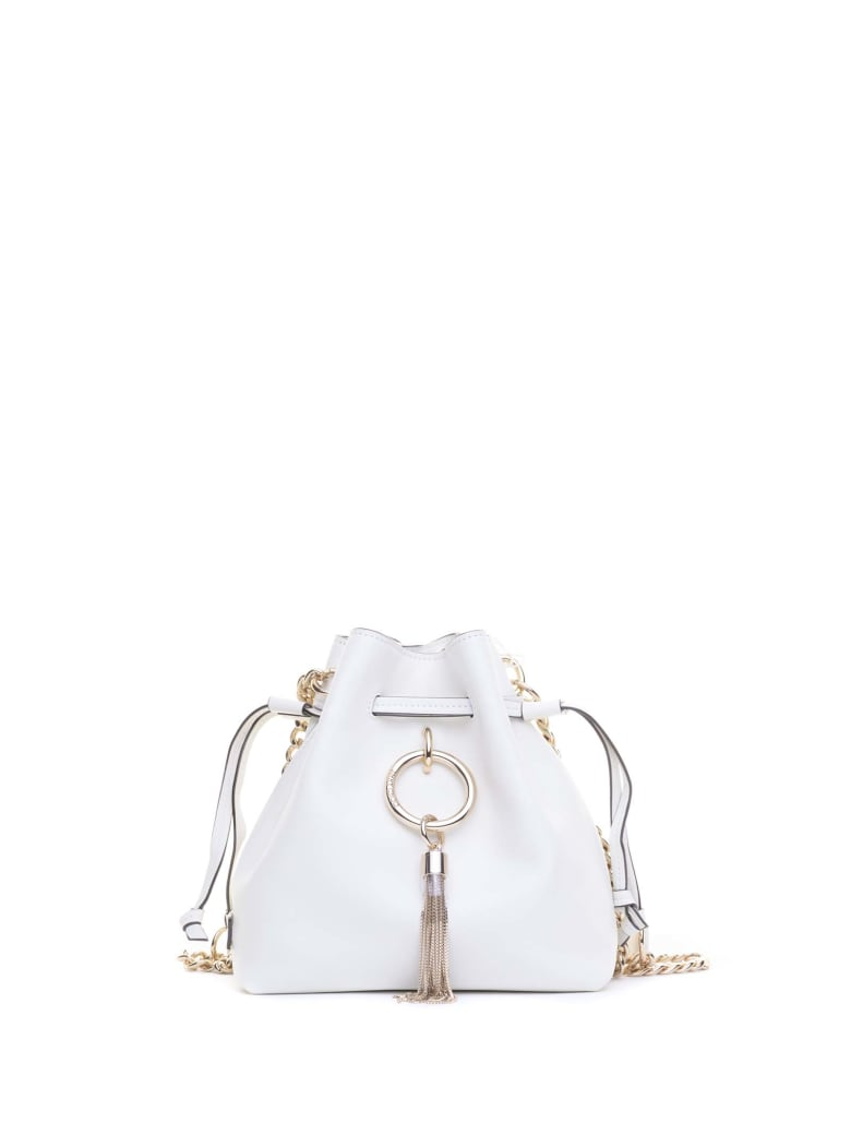 Jimmy Choo Jimmy Choo Callie Bucket Bag - WHITE