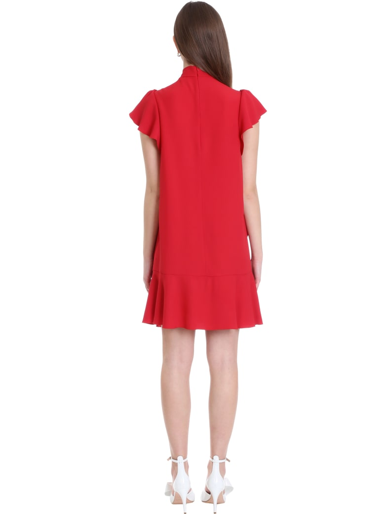RED Valentino Dress In Red Viscose - red