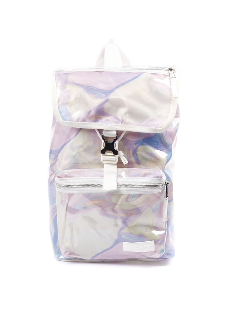 Eastpak Tropher Marble Transparent Backpack - Rainbow