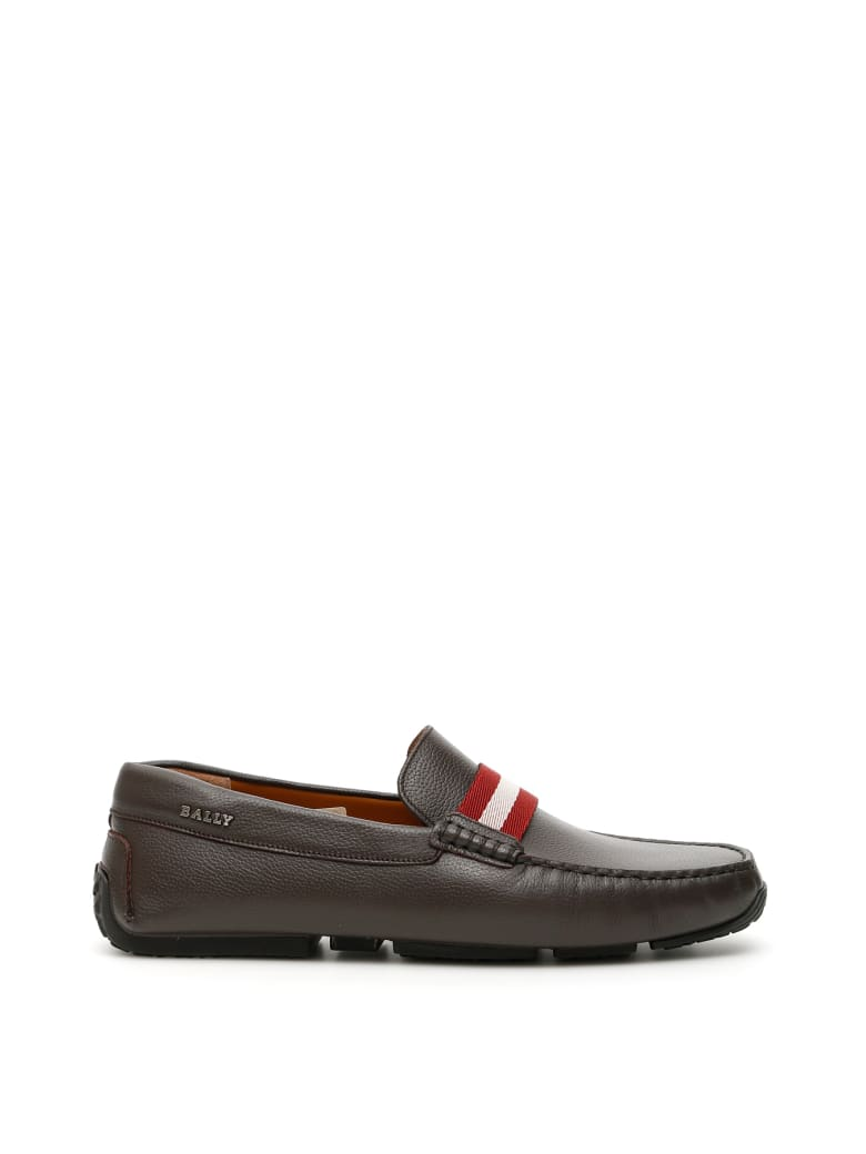 Bally Pearce Loafers - SAFARI 15 (Brown)